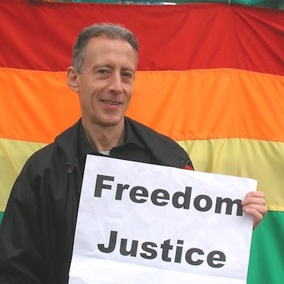 Peter Tatchell Loverboy